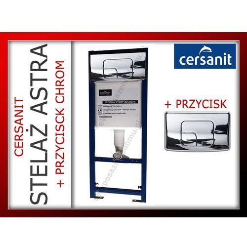 Stelaż Podtynkowy ASTRA CERSANIT z Przyciskiem Chrom - produkt z kategorii- Stelaże i zestawy podtynkowe