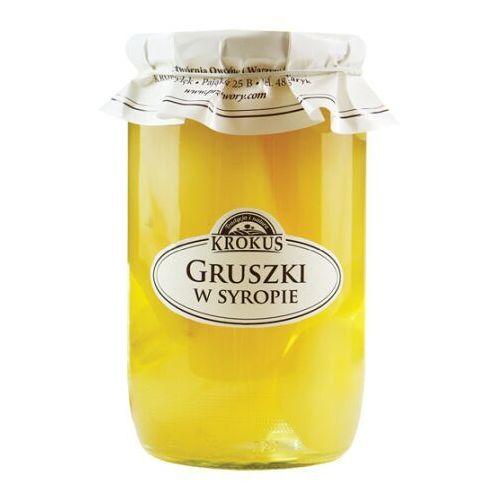 Krokus 720g gruszki w syropie tradycyjna receptura (5906732624253)
