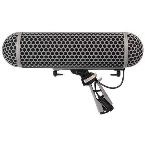 Rode blimp profesjonalna osłona [typu rycote] na mikrofony kierunkowe o maks. długości 425 mm, eliminuje zakłócenia wywołane przez podmuchy wiatru [ntg-1, ntg-2 oraz ntg-3]