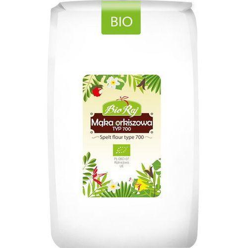 Bio raj Mąka orkiszowa bio biała typ 700, 1kg bioraj
