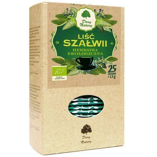 Herbatka liść szałwii bio (25 x 1,5 g) - dary natury marki Dary natury - herbatki bio