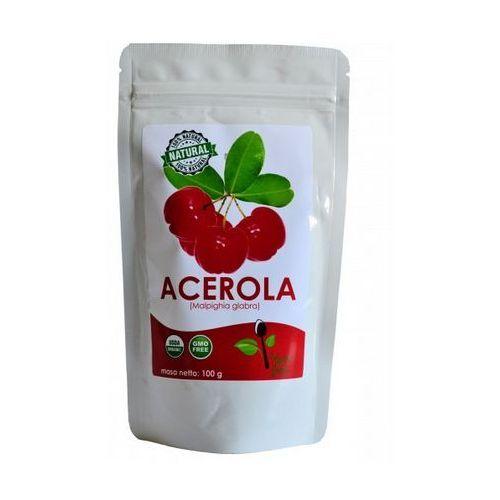 Acerola 25% sproszkowany ekstrakt z owoców aceroli 100g marki Kenay ag