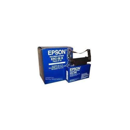 Taśma Epson ERC-38 B Czarna do drukarek igłowych (Oryginalna)