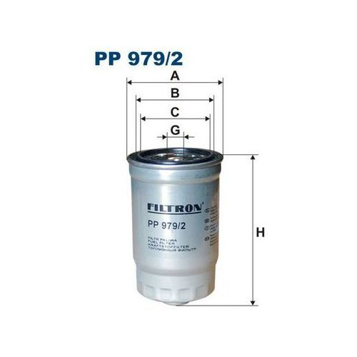 Filtron 979/2 pp filtr paliwa hyundai santa fe tucson/kia ceed cerato sportage picanto 04>