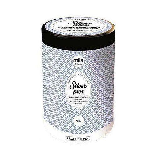 silver plex, rozjaśniacz do włosów w proszku, profesjonalny 500g marki Mila