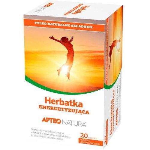 Apteo natura herbatka energetyzująca 2g x 20 saszetek marki Synoptis pharma