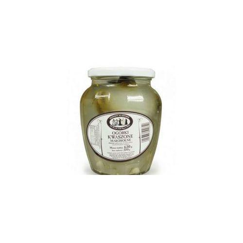 Ogórki kwaszone małosolne 630 g / 350 g Produkty Klasztorne