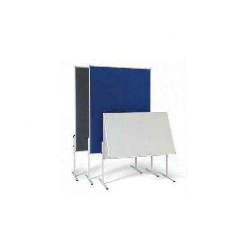 Tablica informacyjno - prezentacyjna, tekstylna, niebieska, składana marki B2b partner