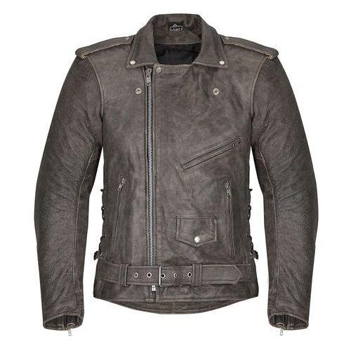Męska skórzana kurtka motocyklowa -TEC Roguer NF-1127, Czarny, XXL, 1 rozmiar