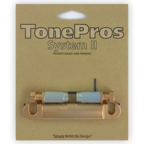 TonePros T1ZS-SG - Tailpiece, części mostka do gitary, satynowe złoto