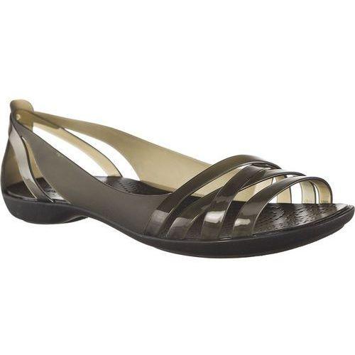 Sandały isabella huarche 2 flat w black black/black marki Crocs