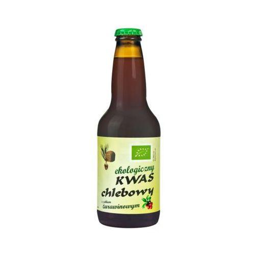 Eko natura 330ml kwas chlebowy z sokiem żurawinowym bio marki Bio planet