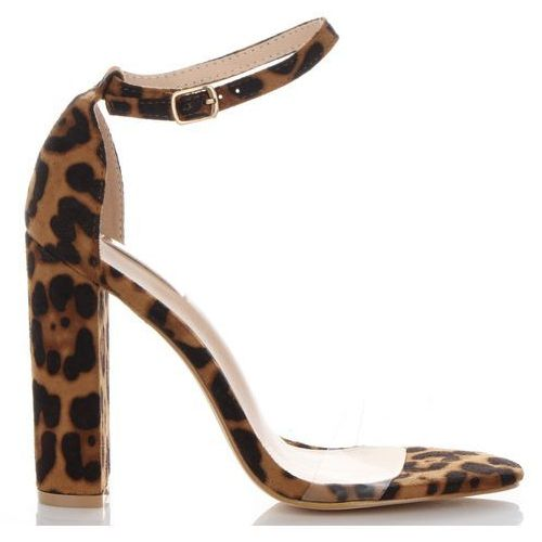 4b27e6eff49ec Stylowe sandały damskie na obcasie we wzór lamparta marki bellucci brązowe  (kolory) marki Belluci 129,00 zł gustowne sandały kobiece to sugestia  lubianej ...