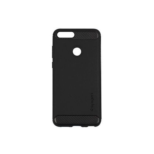 Huawei P Smart - etui na telefon Spigen Rugged Armor - czarny, kolor czarny