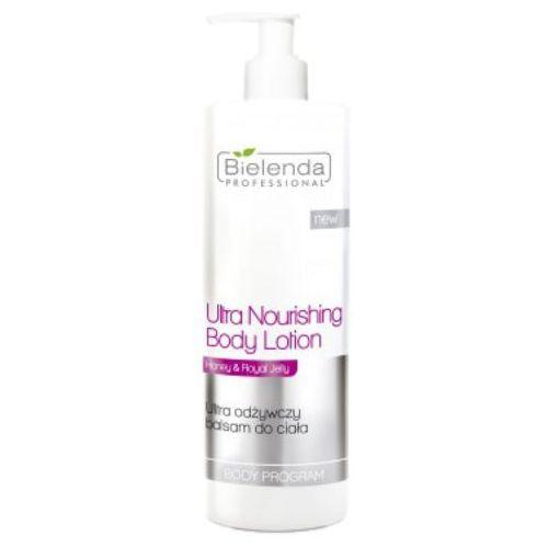 ultra nourishing body lotion ultra odżywczy balsam do ciała marki Bielenda professional