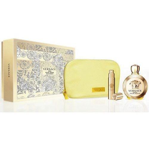 Versace eros pour femme edp 100ml + perfumetka edp 10ml + cosmetic bag