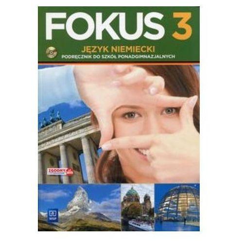 Fokus 3. Licemu/tech. Język niemiecki. Podręcznik z płytą CD Kryczyńska-Pham Anna (200 str.)