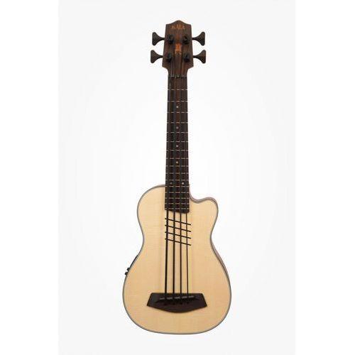 ubass-ssmhg-chhfs u-bass hutch hutchinson signature, gitara basowa 4-strunowa z pokrowcem marki Kala