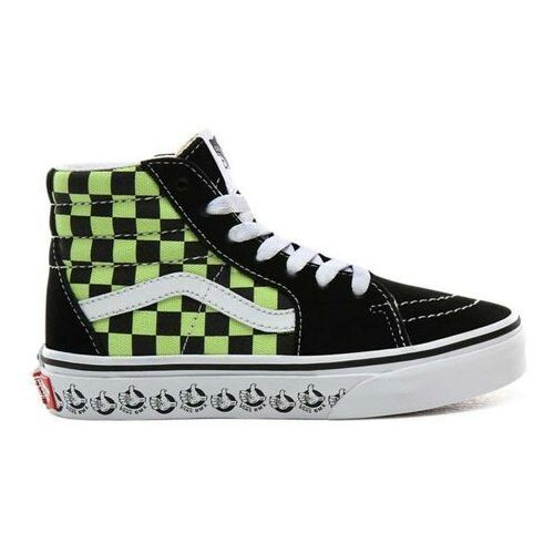 Vans Buty - sk8-hi (vans bmx)blk/sharp green (v3w) rozmiar: 28