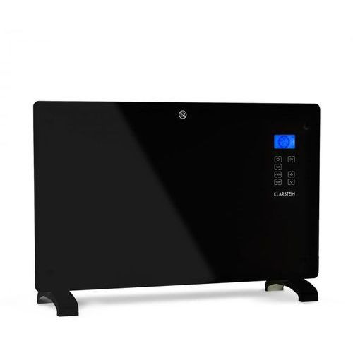 norderney grzejnik konwekcyjny termostat timer 2000 w 30 m² kolor czarny marki Klarstein