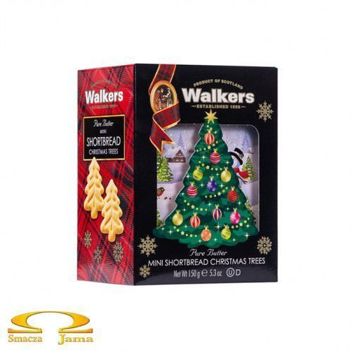 Ciastka shortbread christmas tree 150g marki Walkers