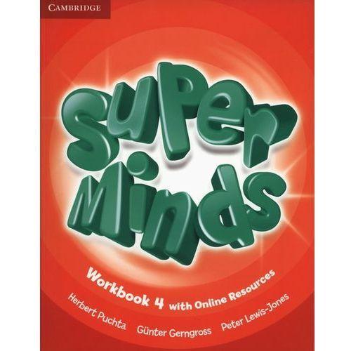 Super Minds 4 Workbook +Online - Wysyłka od 4,99 - porównuj ceny z wysyłką, oprawa miękka
