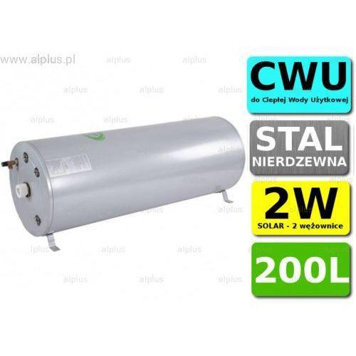 Bojler cyclone 200l poziomy 2w 2-wężownice nierdzewka wymiennik podgrzewacz cwu wysyłka gratis marki Joule