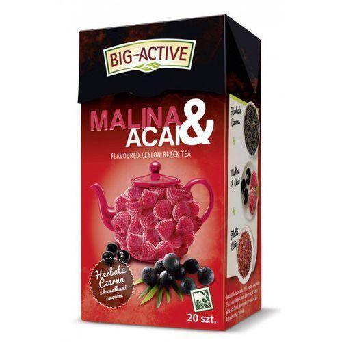 Bio-active Big-activ malina acai czarna herbata (5907658333380)