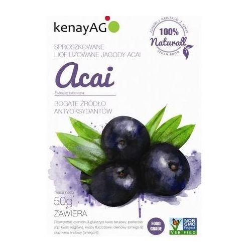 Kenay ag Acai - liofilizowane sproszkow jagody 50g (5900672150162)