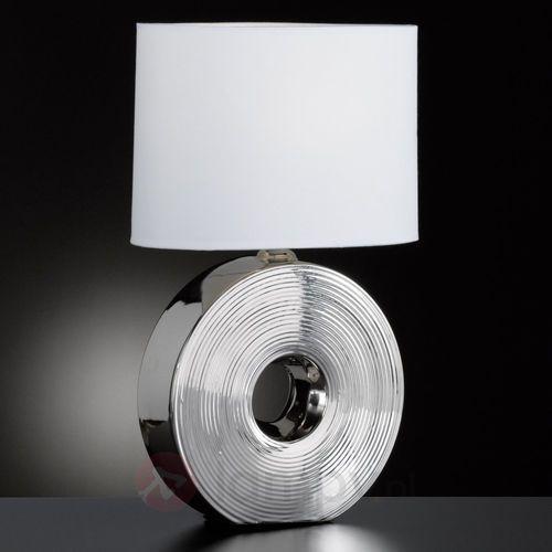 Honsel eye lampa stołowa srebrny, 1-punktowy - klasyczny - obszar wewnętrzny - eye - czas dostawy: od 2-4 dni roboczych