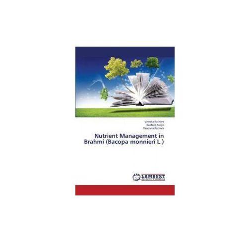 Nutrient Management in Brahmi (Bacopa Monnieri L.) (9783659379079)