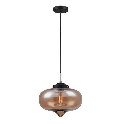Italux Skandynawska lampa wisząca heart mdm2096/1 b szklana oprawa zwis szkło przezroczyste (5900644405290)