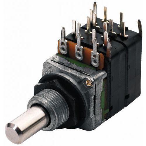 MEC 16 mm Potencjometr gitarowy Mono B250K - Pull-push 4PDT,ON-ON