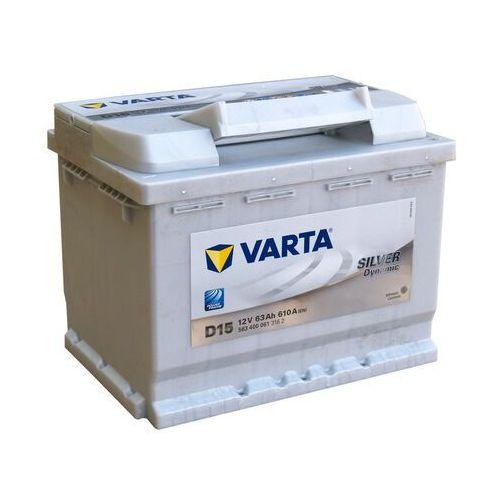 Akumulator VARTA D15 Silver Dynamic 63Ah 610A L-