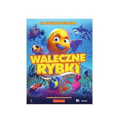 Waleczne rybki (książeczka + dvd) marki Praca zbiorowa