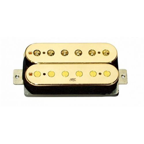 Mec Modern Bridge Humbucker, Open Bobbin – Gold przetwornik gitarowy