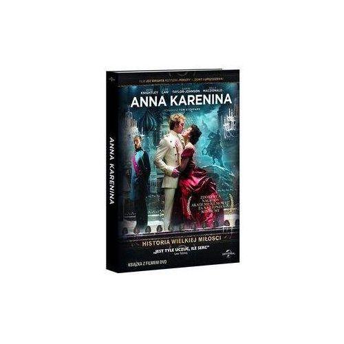 Anna Karenina (DVD) - Joe Wright OD 24,99zł DARMOWA DOSTAWA KIOSK RUCHU (9788377696842)