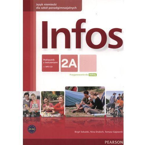 INFOS 2A PODRĘCZNIK + ĆWICZENIA + MP3 CD, oprawa broszurowa