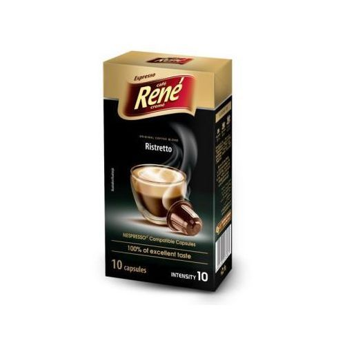 Rene Kawa palona mielona ristretto espresso 50 g (10 kapsułek) (5902480013981)