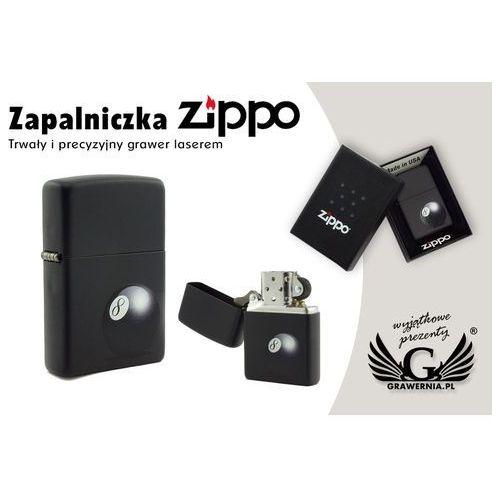 Zippo Zapalniczka 8-ball black matte