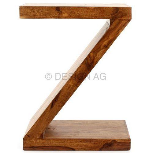 Lagos Z Cube Stolik Lite Drewno Sheesham 44 x 30 x 59 cm - WL1-303, Machina Meble z sfmeble.pl