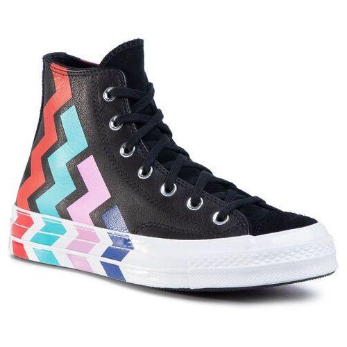 Sneakersy - chuck 70 hi 567047c black/black/university r, Converse, 36-40