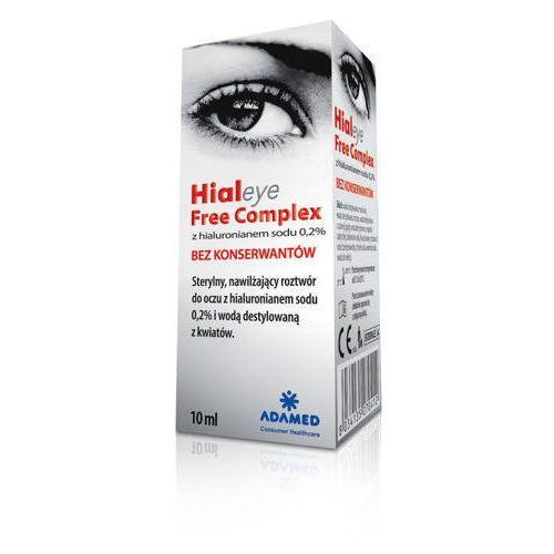 Hialeye free complex krople do oczu bez konserwantów 10ml marki Adamed