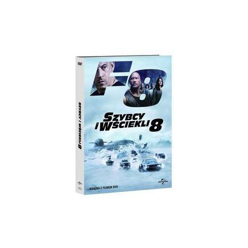Szybcy i wściekli 8 DVD + booklet. Darmowy odbiór w niemal 100 księgarniach!