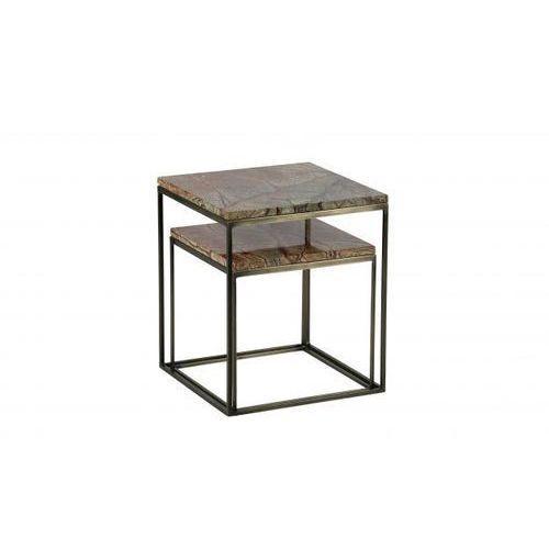Be Pure Zestaw 2 marmurowych stolików do kawy 800759-B (8714713076208)