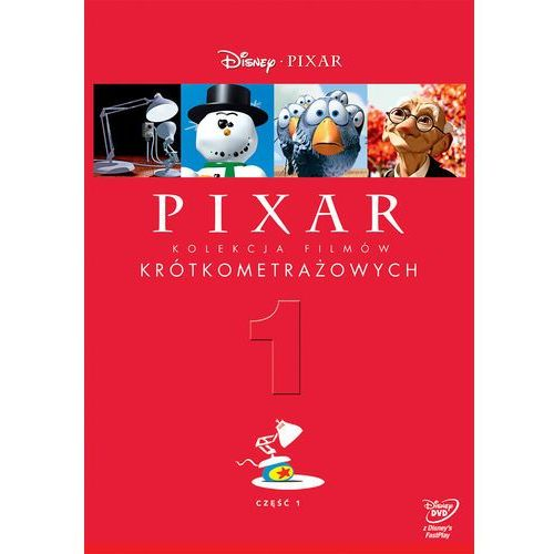 Pixar. kolekcja filmów krótkometrażowych. część 1 [dvd] marki Różni