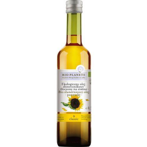 Bio planete (oleje i oliwy) Bio planete olej słonecznikowy virgin 500ml z kategorii Oleje, oliwy i octy