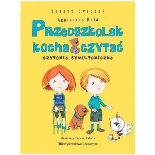 Przedszkolak kocha czytać Czytanie symultanicz.z.ćwiczeń (9788363590284)