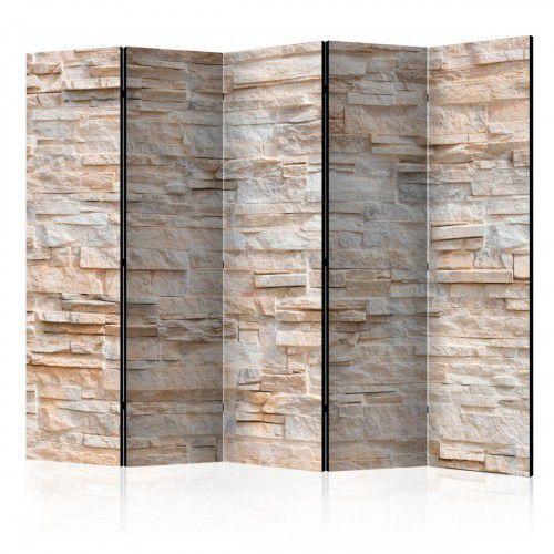 Parawan 5-częściowy - kamienne wyrafinowanie ii [room dividers] marki Artgeist