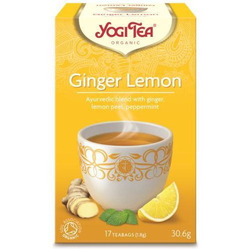 Herbata Imbir-Cytryna BIO (Yogi Tea) 17 saszetek po 1,8g (4012824401341)